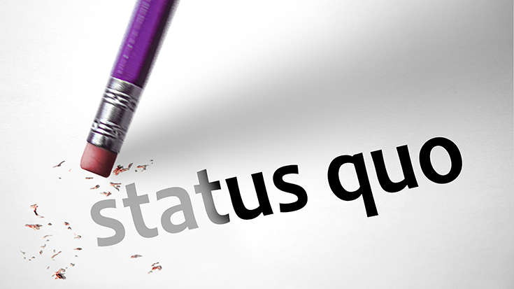 image of status quo graphic