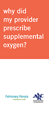 Supplemental Oxygen Information brochure