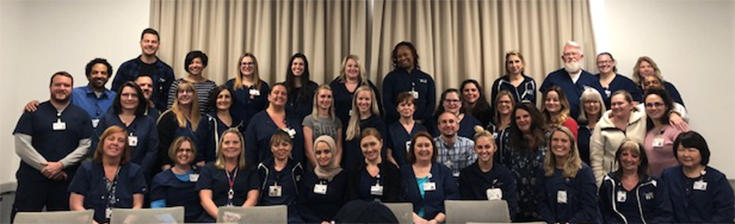 photo of the Cleveland Clinic Pulmonary Function Lab team